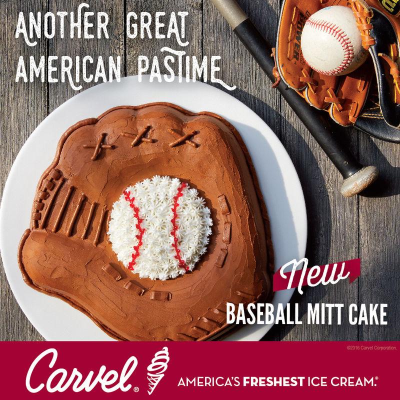 Baseball Mitt-Shaped Cakes