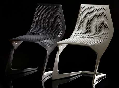 Plastic Cantilever Chair