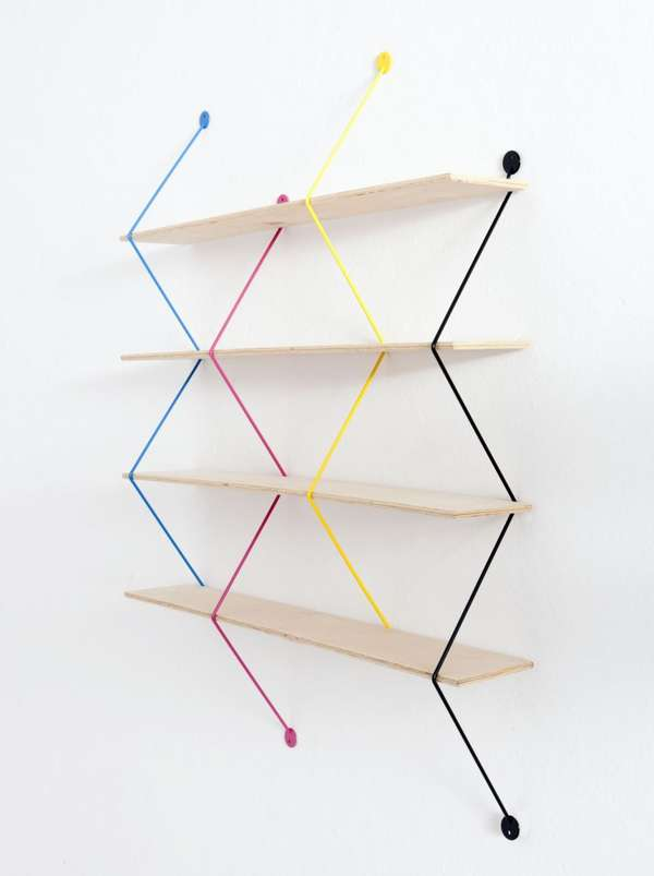 Bashko Trybek Serpent Shelves