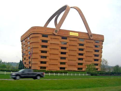 Basket Buildings Longaberger Headquarters In Ohio Looks