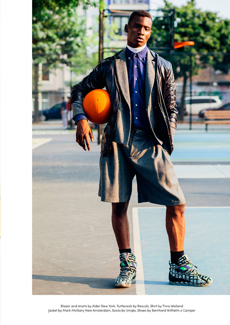 Courtside Couture Editorials