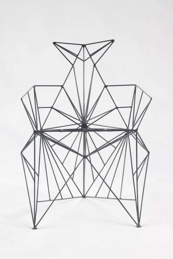 Sculptural Wireframe Seating