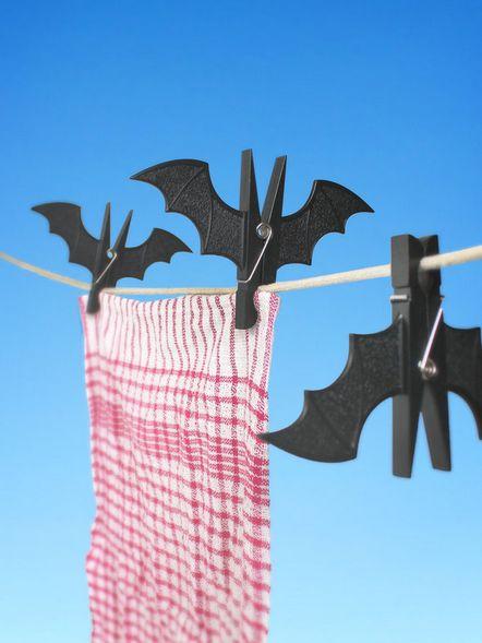 Vampire Bat Clothespins
