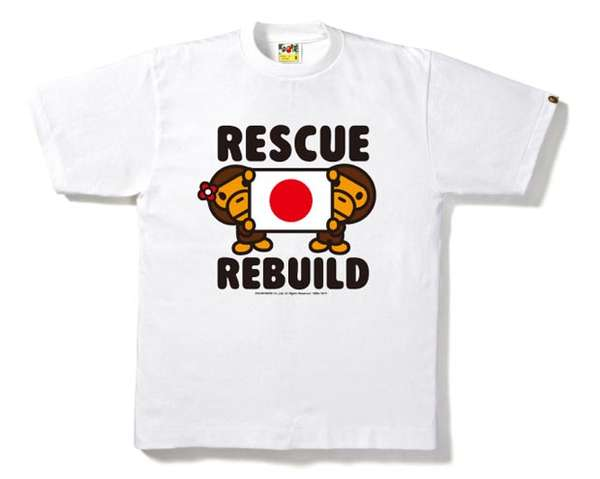 Bathing Ape Rescue Rebuild Tee