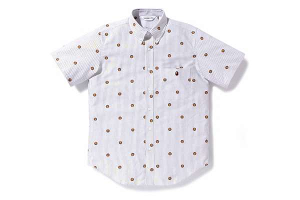 Bathing Ape Striped Oxford Shirts
