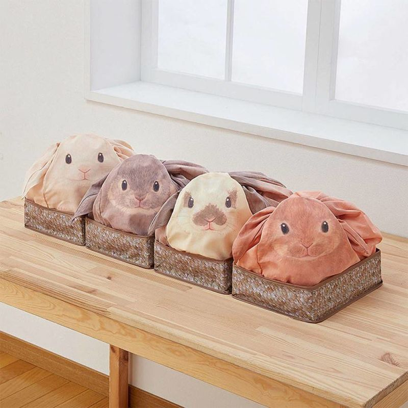 Rabbit-Shaped Storage Bags