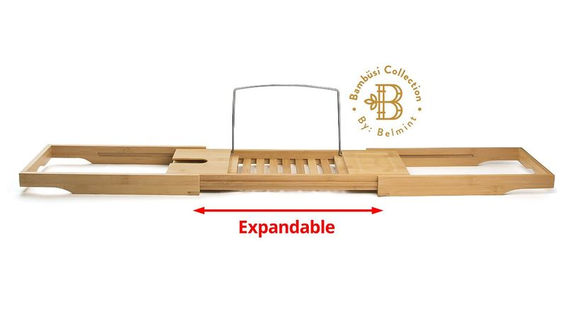 Bamboo Bathtub Caddies