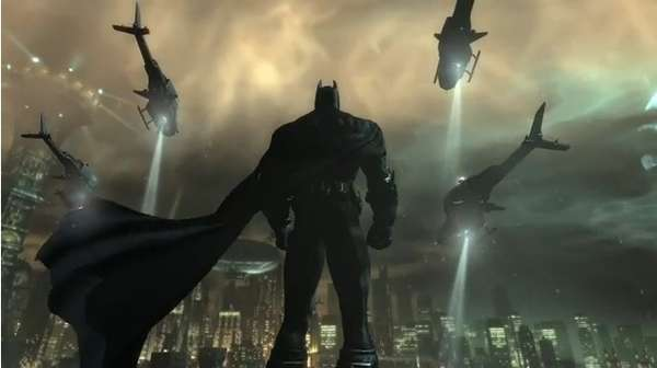 Caped Crusader Game Spots