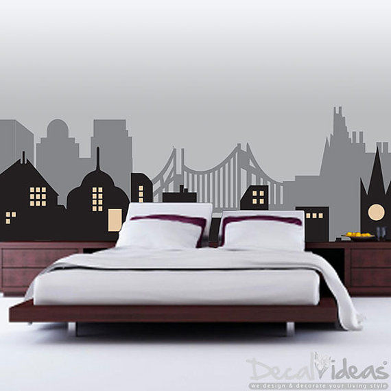Gothic Cityscape Decals