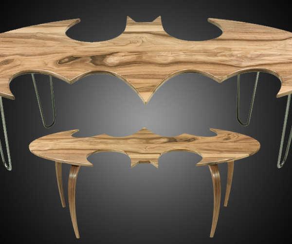 Superheroic Coffee Tables - Superheroic Coffee Tables : Batman Logo