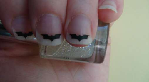 Batman Nail Decals