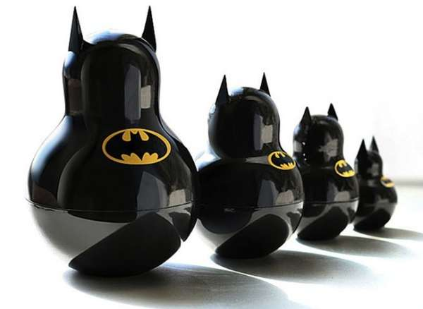 Batman Russian Nesting Doll