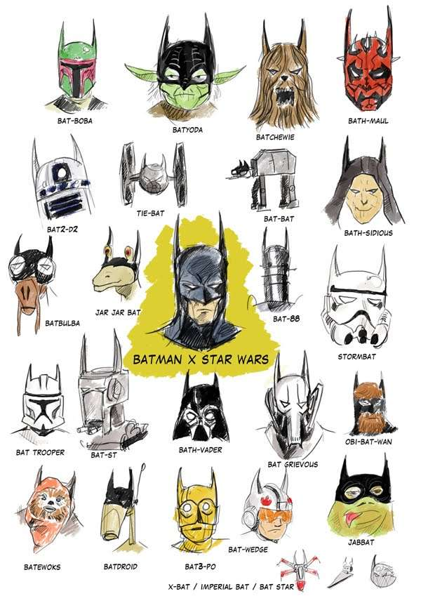 Batman Star Wars