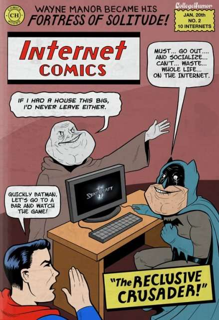 Batman vs The Internet