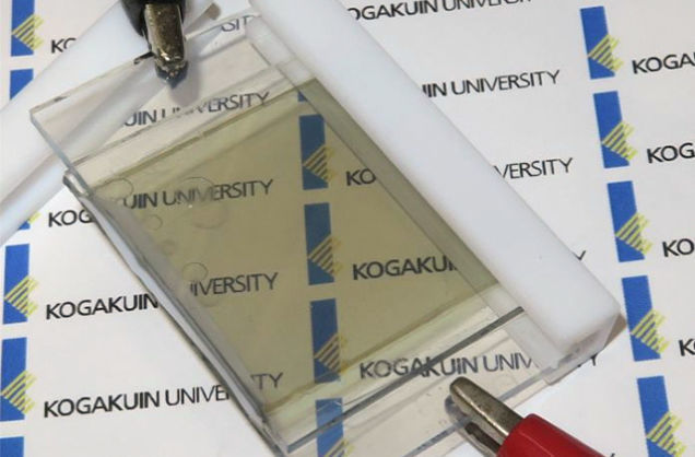 Solar Transparent Batteries