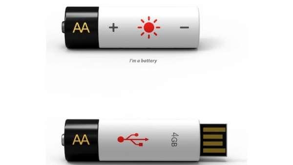 Battery USB Stick Hybrids