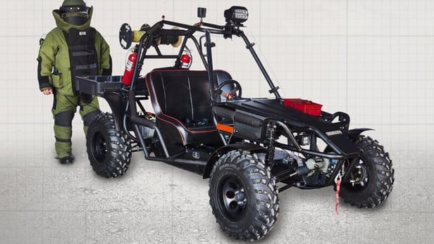 Bomb-Disposal Buggies