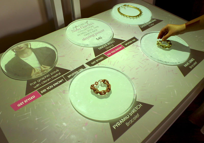 Interactive Jewelry Activations