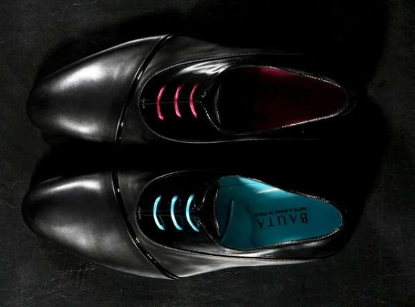 Dual-Hued Dress Shoes