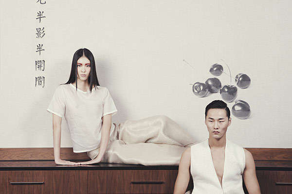 Minimalist Meditative Editorials