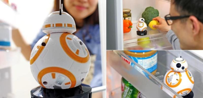 Fridge Interior Robot Toys