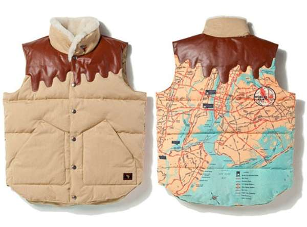 Melting Map Vests