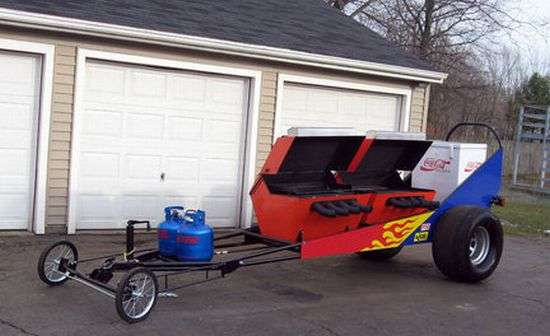 Drag Racing Barbecues