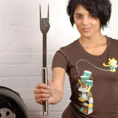Heavy Metal BBQ Utensils