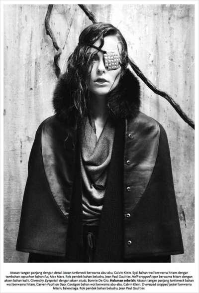 Darkly Demure Portraits