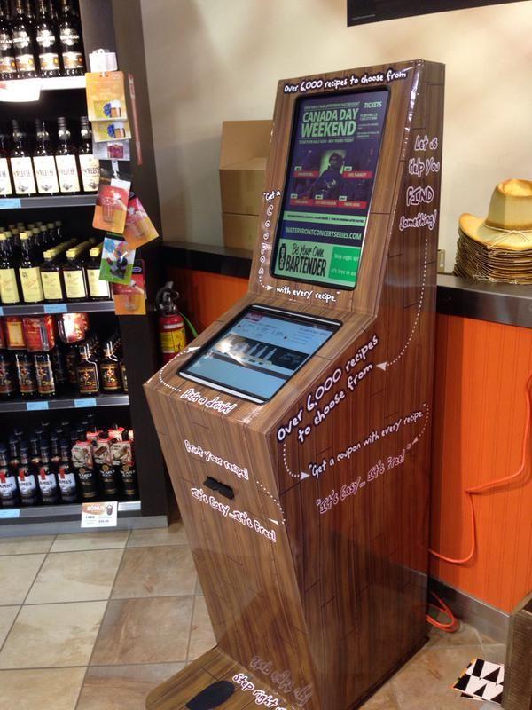 Cocktail-Creating Kiosks