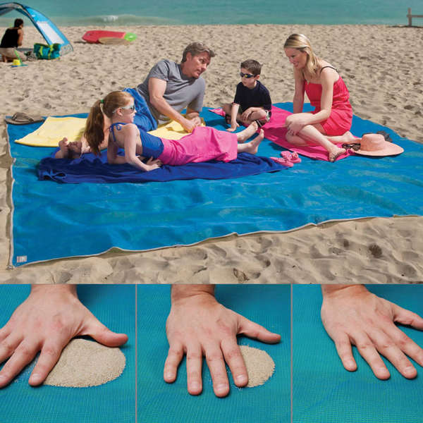 Enormous Sand-Filtering Mats