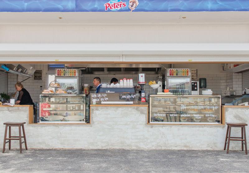 Italian Fare Beach Kiosks