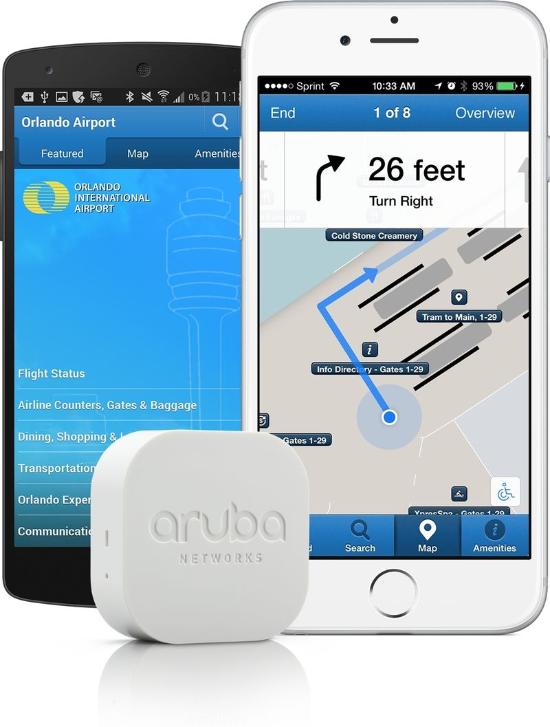 Cloud-Based Airport Beacons