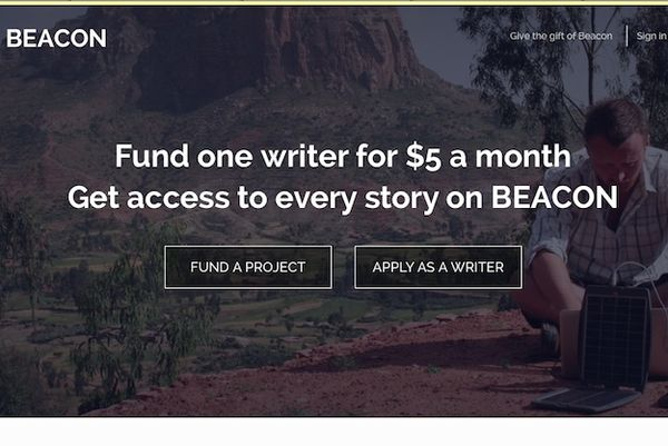 Crowdfunding Writer Project Websites