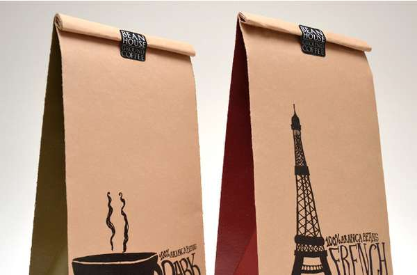 Nostalgic Lunch Bag Branding