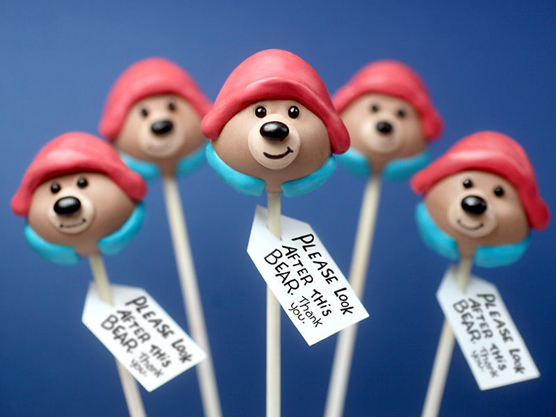 Teddy Cake Pops