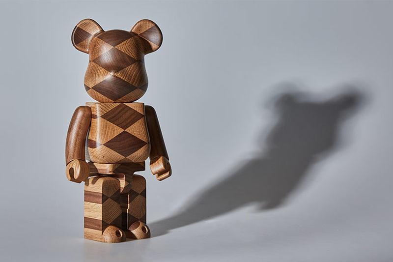 Woven Wood Bear Toys