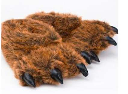 Hairy Forest Animal Footwear