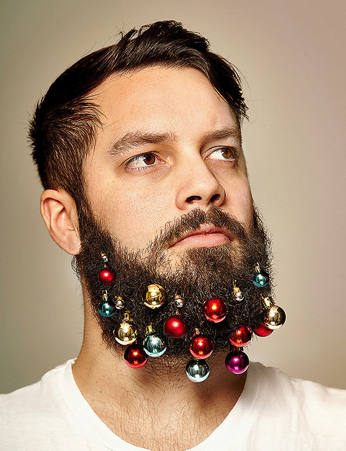 Festive Beard Baubles