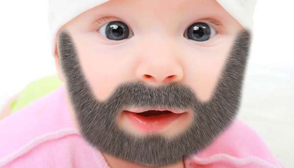 Infant Facial Hair Apps