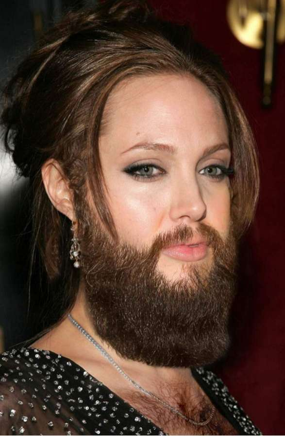 bearded female celebrities1