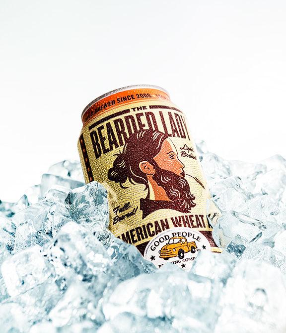 Bearded-Female Beer Labels