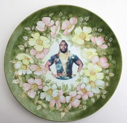 Pop Culture Art Plates