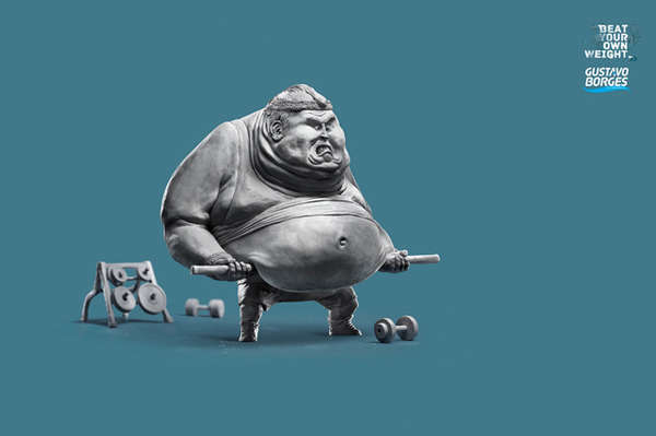Weight-Challenging Workout Ads