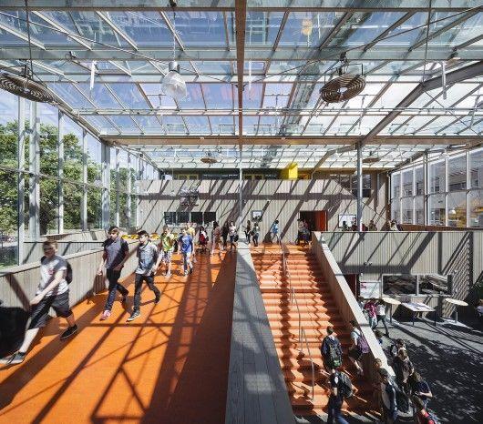 Colorful Futuristic Campuses