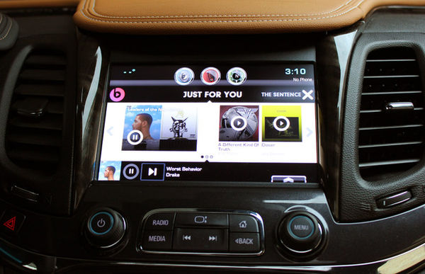 Music App-Integrated Cars