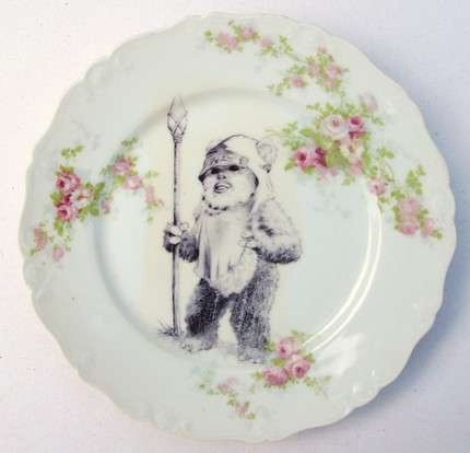 Altered Antique Plates