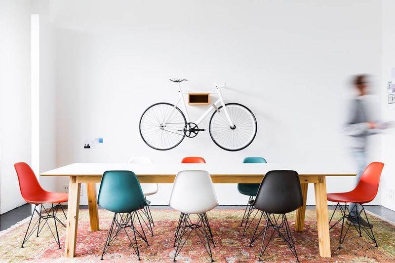 Bicycle Seat Shelving