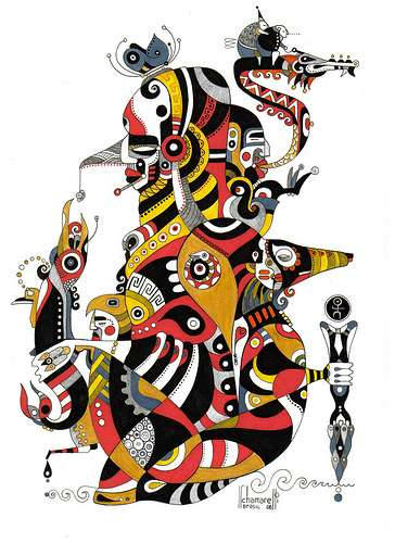 Brazilian Abstract Cartoons