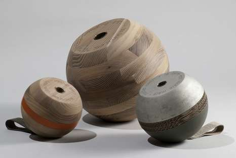 Spherical Scrap Vases